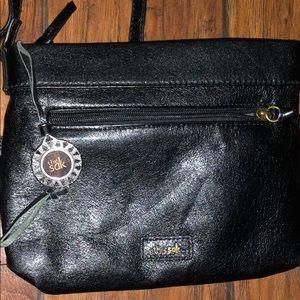 🏆3/$25 leather small the Sak purse handbag black